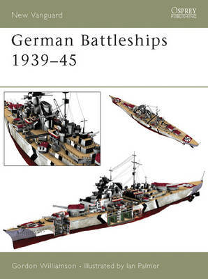 German Battleships 1939-45 by Gordon Williamson image