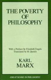 The Poverty Of Philosophy by Karl Marx image