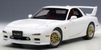 Autoart: 1/18 Mazda RX-7 (FD) Tuned Version (Pure White)