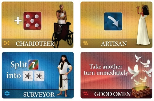 Favor of the Pharaoh - Dice Game image