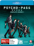 Psycho-pass - The Complete Season 1 on Blu-ray
