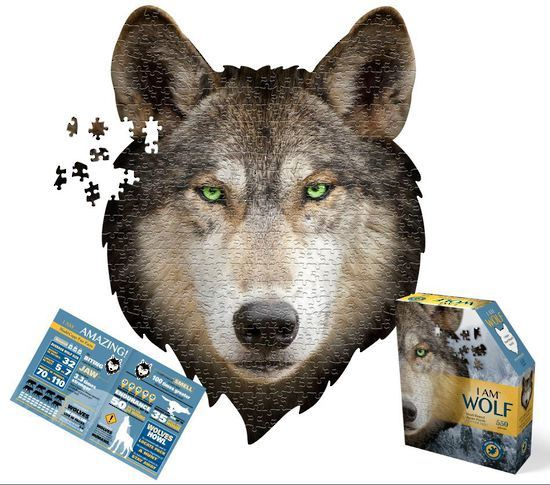 I Am Wolf Puzzle - 550pc