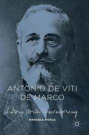 Antonio de Viti de Marco by Manuela Mosca