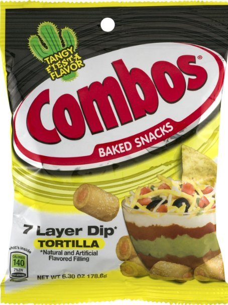 Combos 7 Layer Dip Tortilla Baked Snacks image