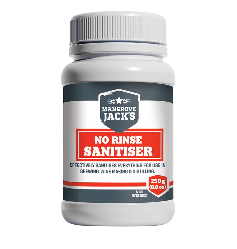 Mangrove Jack's No Rinse Sanitiser(250g) image