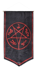 Supernatural - Devil's Trap Symbol Banner