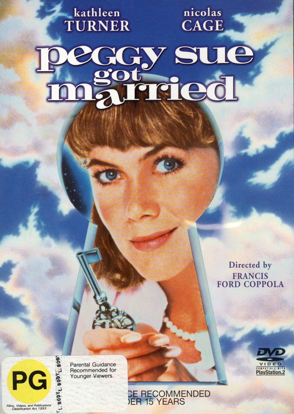 Peggy Sue Got Married on DVD image