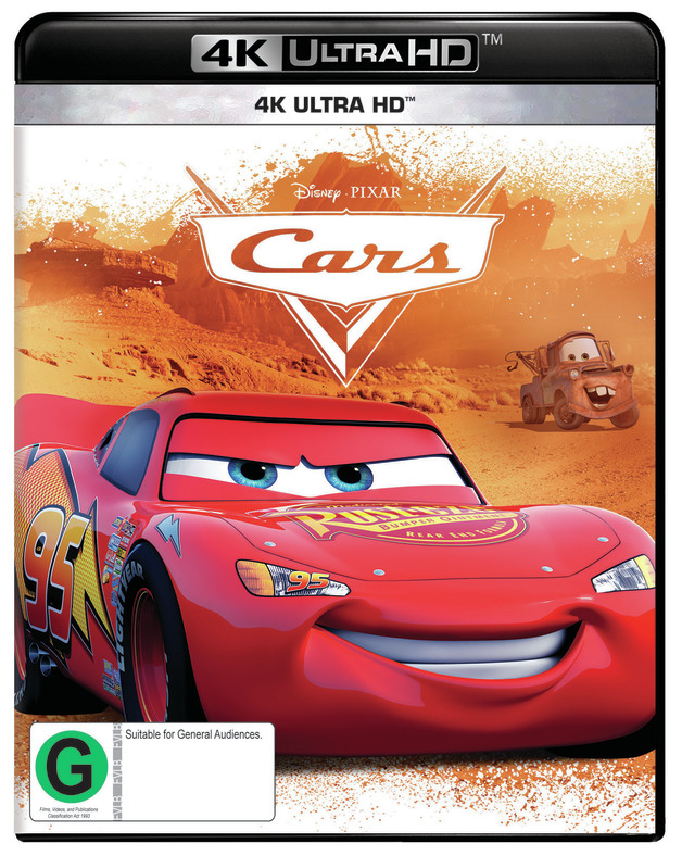 Cars (4K UHD) on UHD Blu-ray