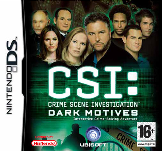 CSI: Dark Motives for Nintendo DS
