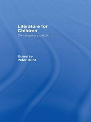 Literature For Children by Peter Hunt image