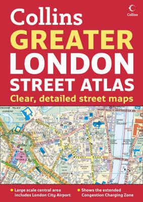 Greater London Street Atlas by HarperCollins image