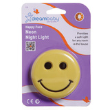 Dream Baby Happy Face Plug-in Neon Night Light