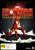 Iron Man: Armoured Adventures Double Pack DVD
