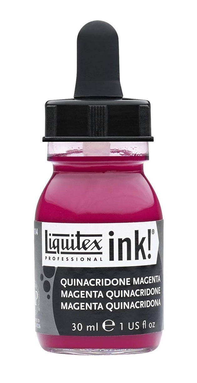 Liquitex: Acrylic Ink - Quinacridone Magenta (30ml) image