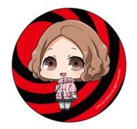 Persona 5: Can Badge - (Haru Okumura Deformed Ver.)