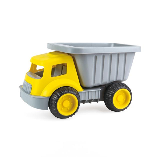 Hape: Load & Tote Dump Truck - Yellow