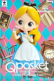 Q Posket: Alice - Thinking Time - PVC Figure