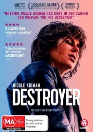 Destroyer on DVD image