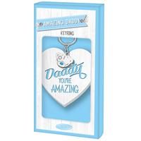 Fathers Day: Keyring Amazing Daddy