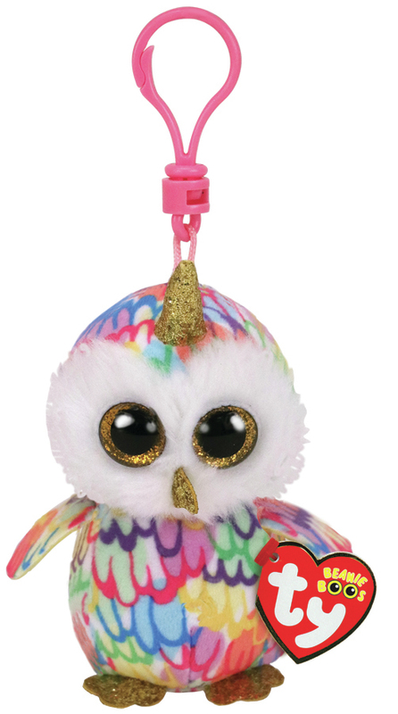 TY Beanie Boos: Enchanted Owl - Clip On Plush