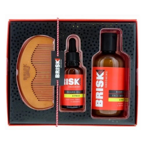 Bisk Beard: Citrus Grooming Kit
