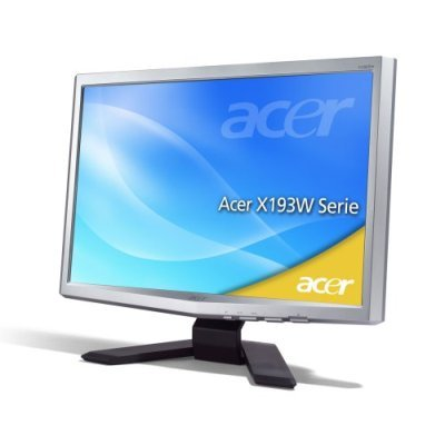 "Acer X193W 19"" Widescreen LCD 5ms image"