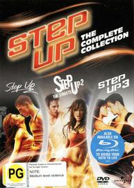 Step Up: 1-3 Box Set (3 Disc Set) on DVD
