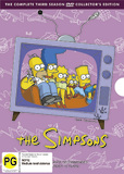 The Simpsons - The Complete Third Season on DVD