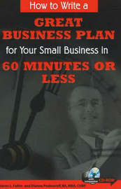 How to Write a Great Business Plan for Your Small Business in 60 Seconds or Less by Dianna Podmoroff image