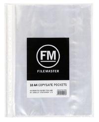FM Copysafe Pocket - A4 40 Micron Hangsell (Pack 10)
