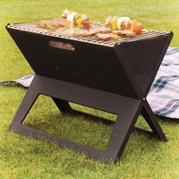 Portable Notebook BBQ Grill