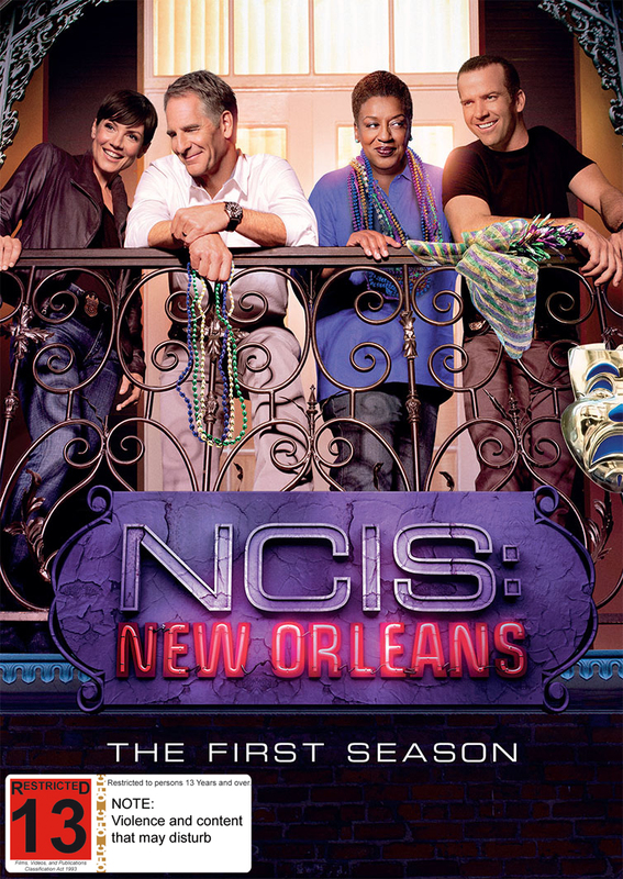NCIS: New Orleans on DVD