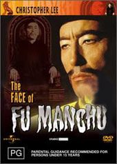 The Face Of Fu Manchu on DVD
