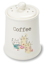 Cooksmart: Top Cats - Coffee Canister