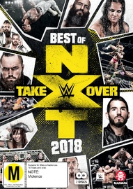 WWE: Best of NXT Takeover 2018 on DVD image