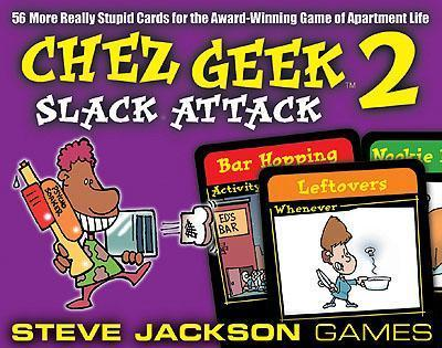 Chez Geek 2: Slack Attack Expansion by John Kovalic