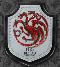 Game of Thrones Targaryen House Crest Wall Plaque