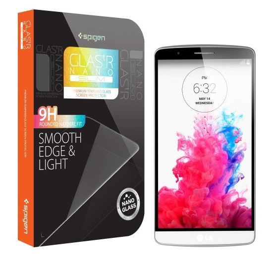 quality design 4c0bd c105f Spigen Glas.tR Nano Slim Screen Protector for LG G3 | at Mighty Ape NZ