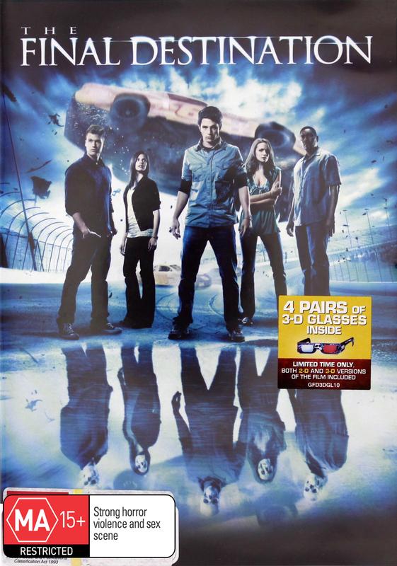 The Final Destination (4) - 2D/3D (2 Disc + 4 Glasses) on DVD