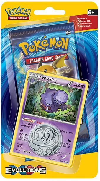 Pokémon TCG Evolutions Checklane Blister:Weezing