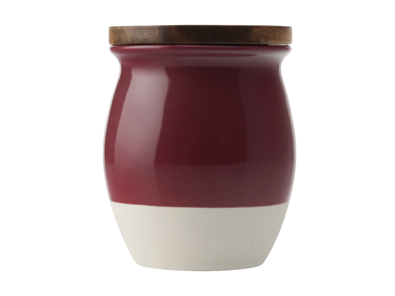 Maxwell & Williams - Artisan Dipped Canister Pomegranate (1L) image