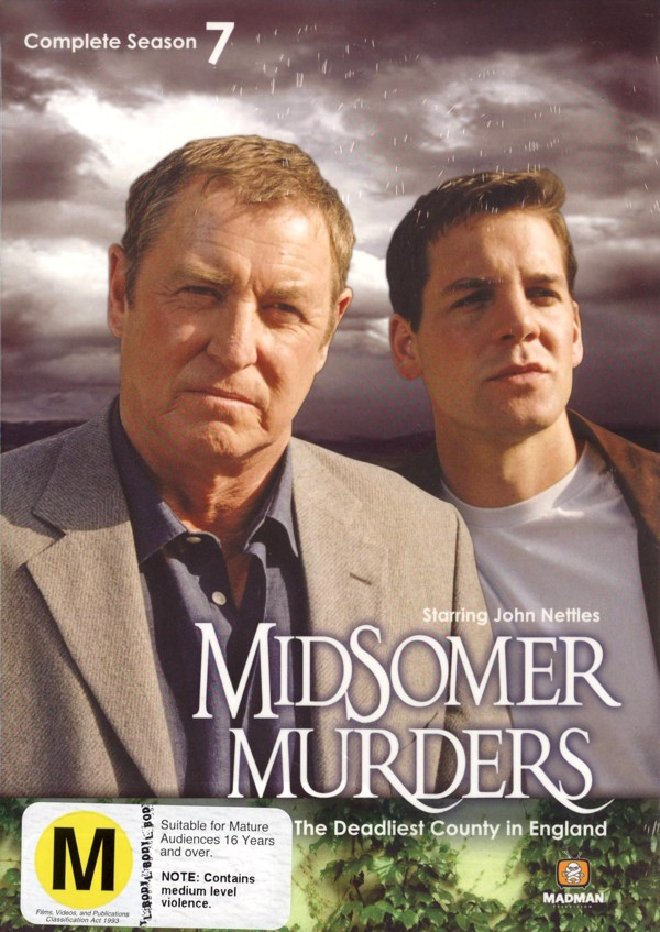 Midsomer Murders - Complete Season 7 (4 Disc Box Set) on DVD image