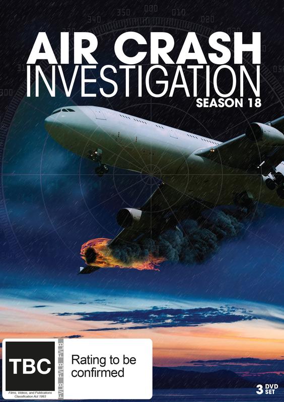 Air Crash Investigation Season 18 on DVD