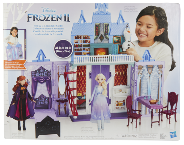 Frozen II: Fold & Go Arendelle Castle - Playset image