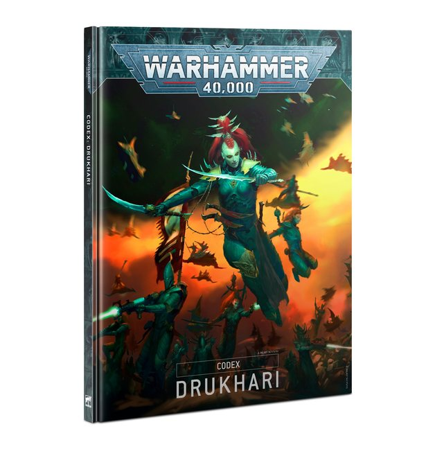 Warhammer 40,000 Codex: Drukhari (9th Edition)