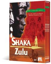 Shaka Zulu (4 discs) on DVD