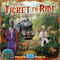 Ticket To Ride: The Heart of Africa Expansion image