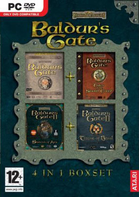 Baldur's Gate Ultimate Collection (1+2 and Expansions) for PC Games