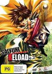 Saiyuki Reload - Vol 2 on DVD