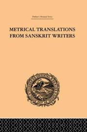 Metrical Translations from Sanskrit Writers by J. Muir image